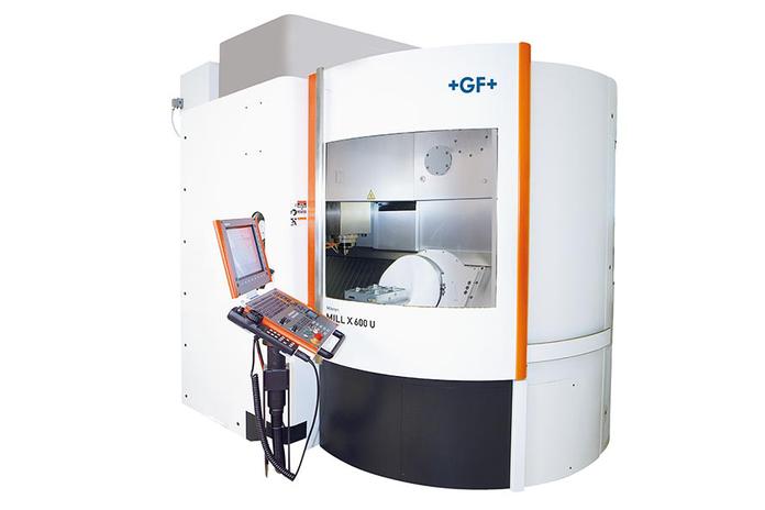 GFMS Mikron Mill X600U