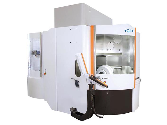 GFMS Mikron Mill X400U