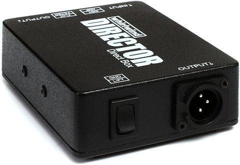 Whirlwind Director 1Channel  passive instrument DI box