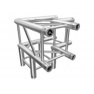 3-Way 90 Degree (21lbs) Square Truss Section