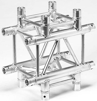 4-Way Cross-Junction Square Truss section (21lbs)