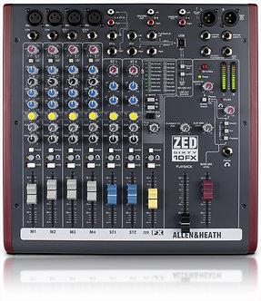 ALLEN & HEATH ZED-10FX Usb Mixer With Fx