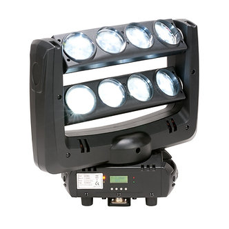 Crazy 8 LED Moving Heads