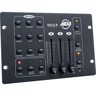 American DJ RGB 3C IR 3-Channel DMX Controller for RGB LED Fixtures