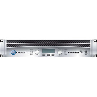 Crown IT-6000 Amp Rack   Day Rental