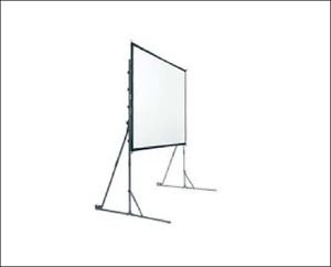 16 x 21Fast Fold Projector Screens Front and Rear