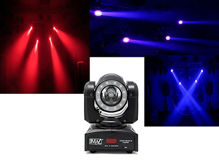 Crazy Beam 40 Fusion LED Moving Head