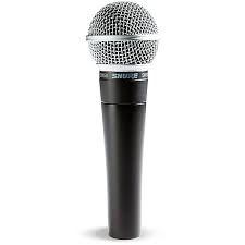 Shure sm58 Vocal Microphone, Cardioid
