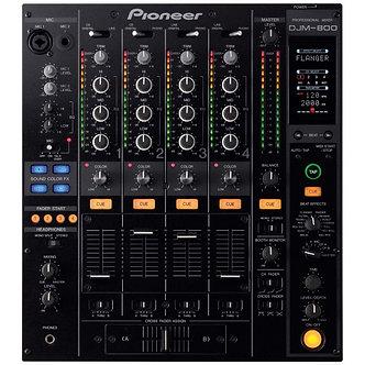 Pioneer DJM800 Digital DJ Mixer (4 Channel)