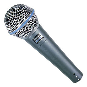 Shure Beta 58 Dynamic Supercardioid mic