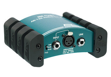 Bss AR-133 1 Channel active mic instrument direct box