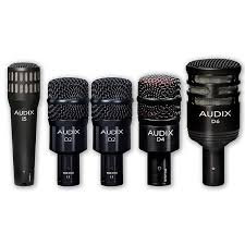 Audix Drum mics Set 6 pieces