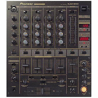 Pioneer DJM600 Digital DJ Mixer (4 Channel)