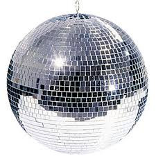 "American DJ Mirror ball 20"" with motor"