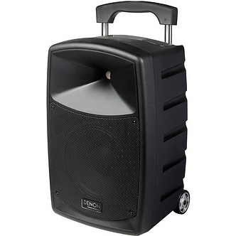 Denon Envoi Portable PA System Kit with Dual-Channel Wireless Handheld Microphon