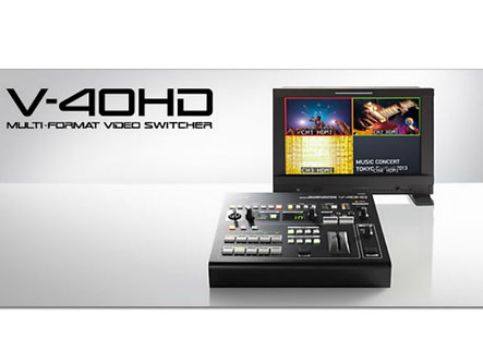 Roland V-40HD: Multi-format Video Switcher