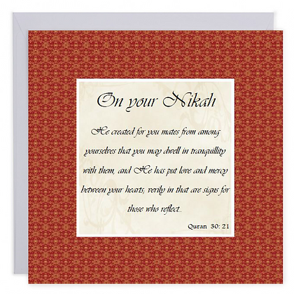 On Your Nikah