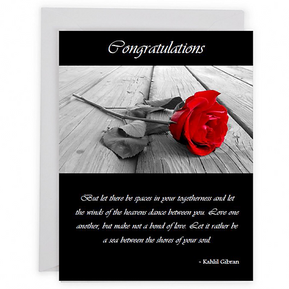 Wedding Black Rose