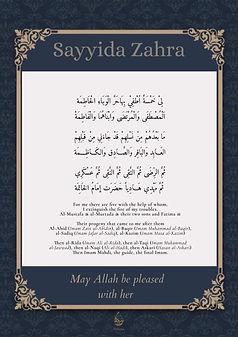 Sayyida Zahra Poster 4