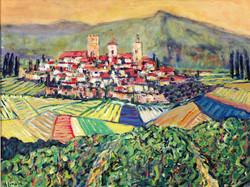 Village et vignobles