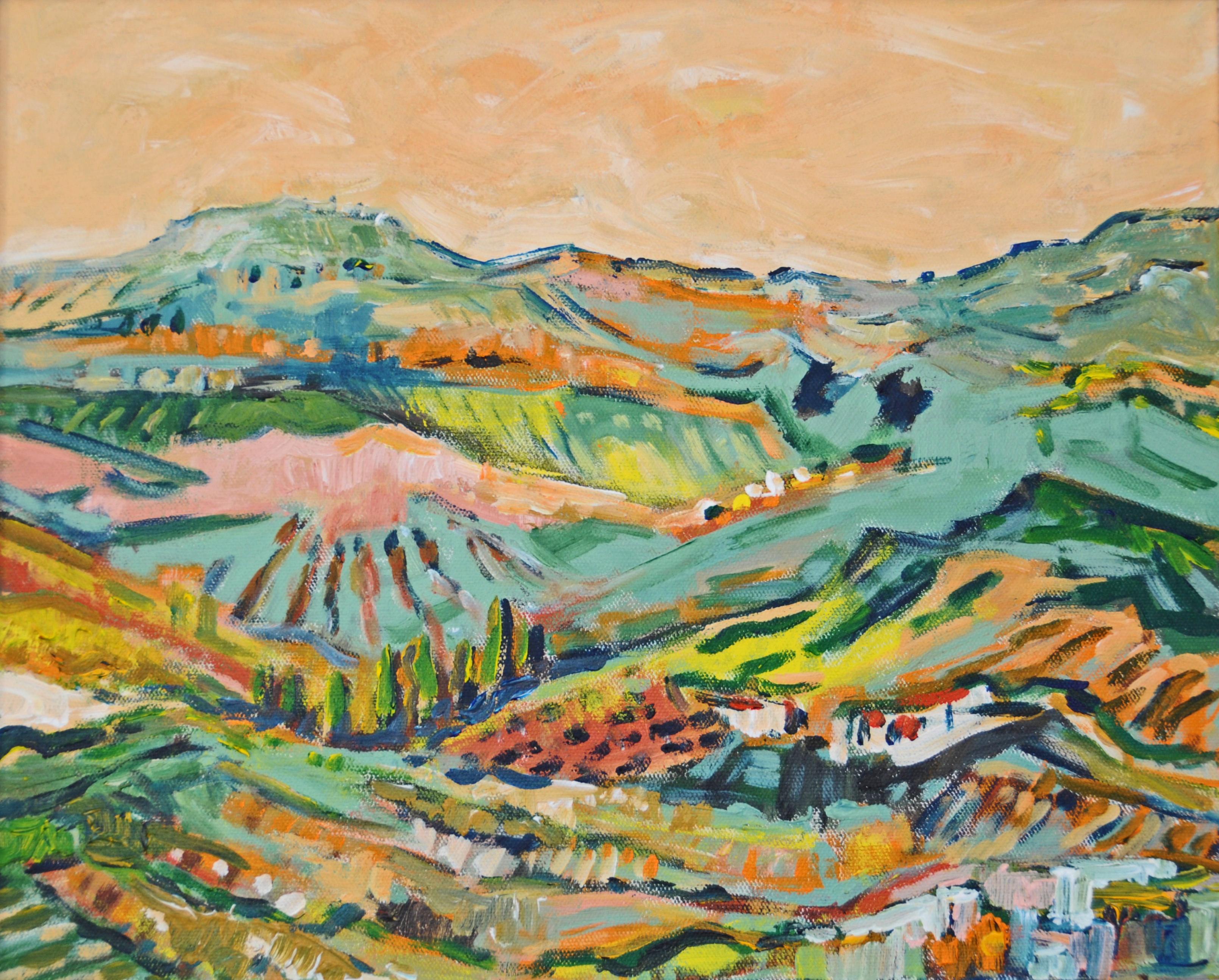 Paysage, région de Corinthe