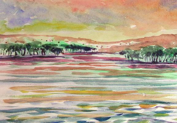 Soir sur le Nil