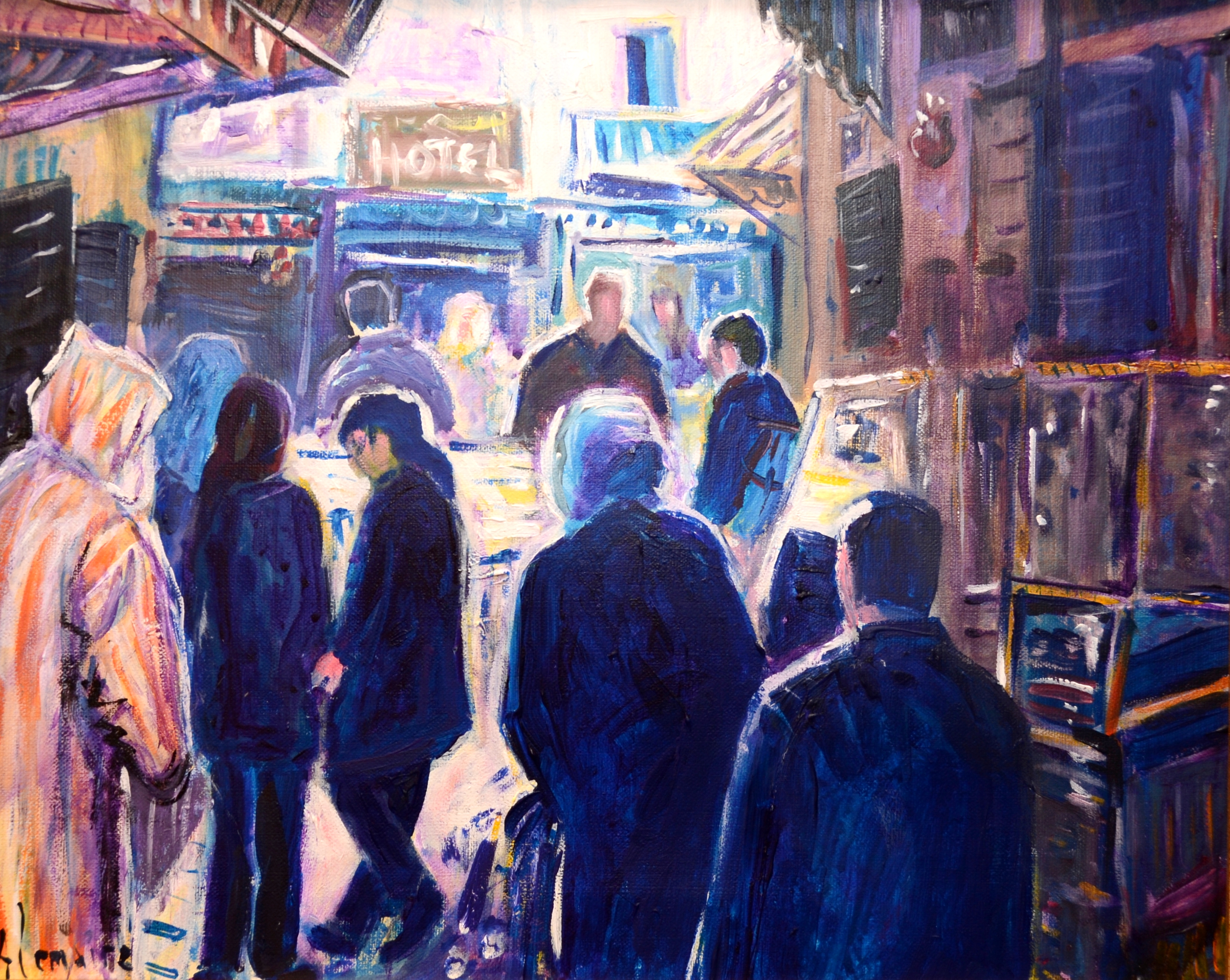 Rue aux boutiques (Fez)