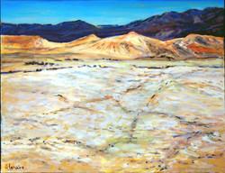 Les dunes, dans la vallée de la mort