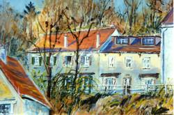 Auvers, rue de la Sansonne