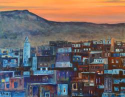 Tombée du jour sur la Médina de Fez