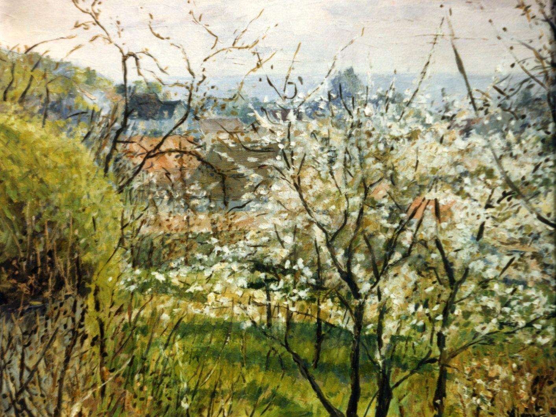 Cerisiers en fleurs, Auvers sur Oise