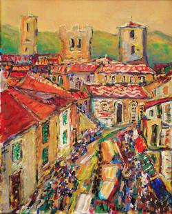 Jour de marché, Toscane