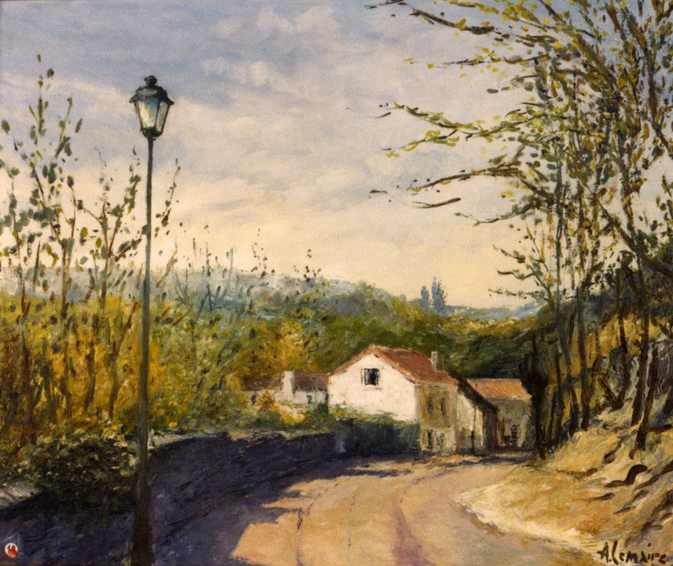 Rue à Auvers sur Oise