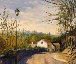 Route d'Auvers sur Oise