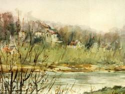 Bords de l'Oise à Auvers