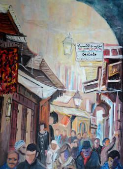 Une rue dans la Médina