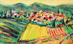 Un village en Toscane