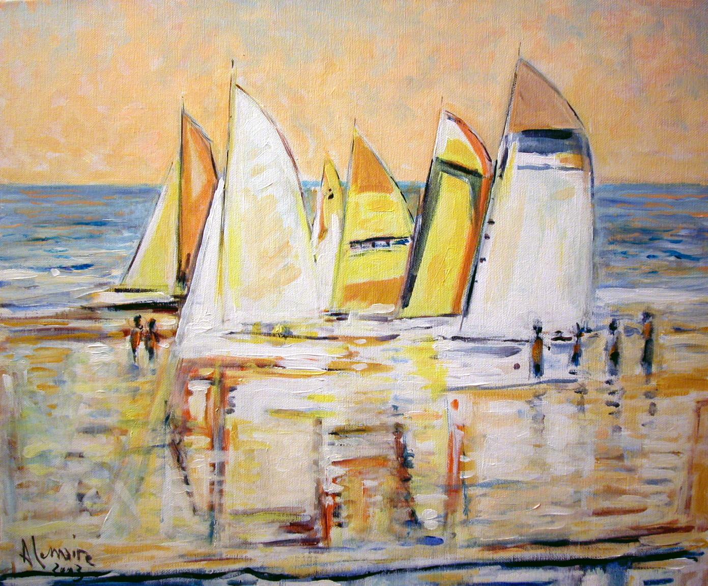 Grands catamarans au Touquet