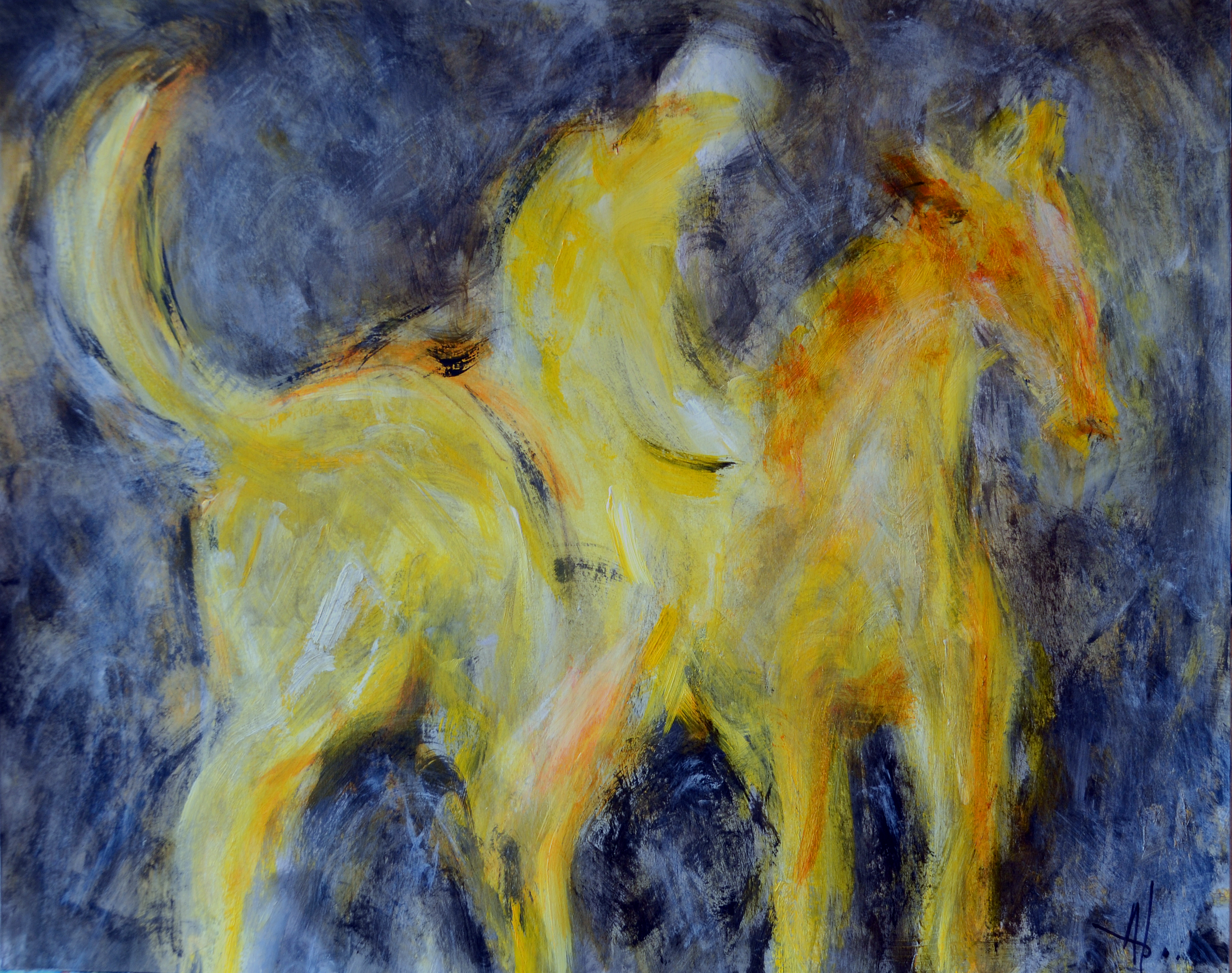 Le cheval tranquille