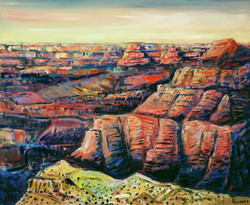 """""""Pyramides"""" (grand canyon)"""