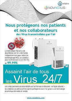 Neogiene - Support commercial sur table | Novaerus