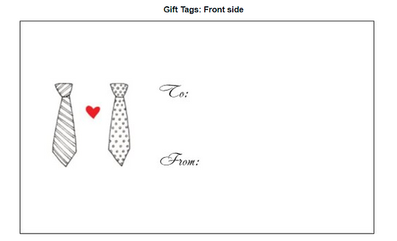 Card - Giftcard - Ties