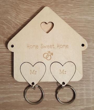 Key Holder - Gay - Home Sweet Home