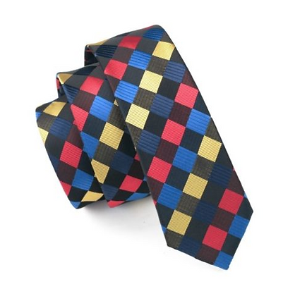 Tie - Silk Collection - Checkers