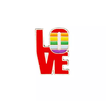 Pride LOVE Badge