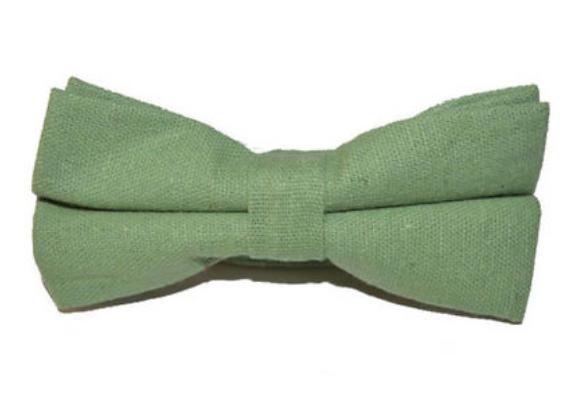 Bowtie - Linen Green