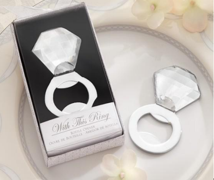 Bottle Opener - with this ring