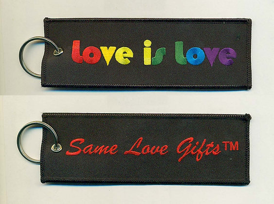 Luggage Bag Tag - Love is Love (Large)