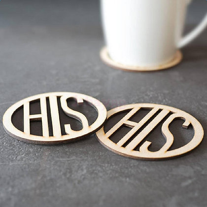 Coasters - His & His