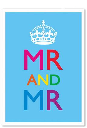 Card - Gay - Mr & Mr